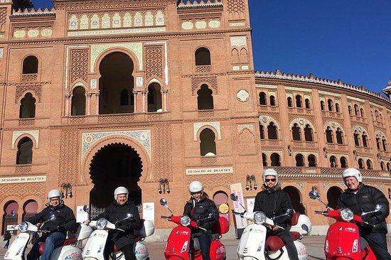 Vespa: Tour panoramique de Madrid (3h...