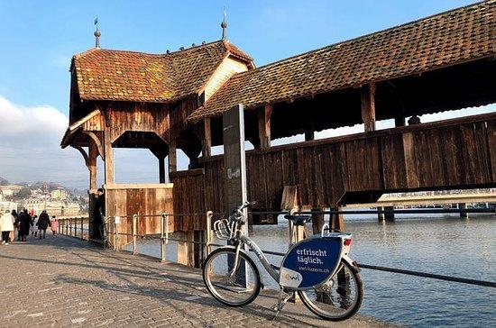 Passeio de bicicleta de Lucerna e...