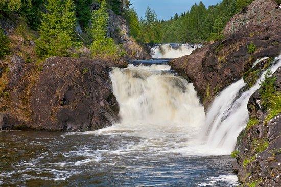 Kivach State Nature Reserve Kivach Waterfalls