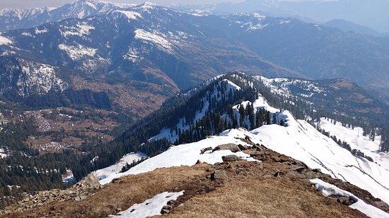 Bagh, Pakistan : Bani minhasaan view #view_From_GangaChoti