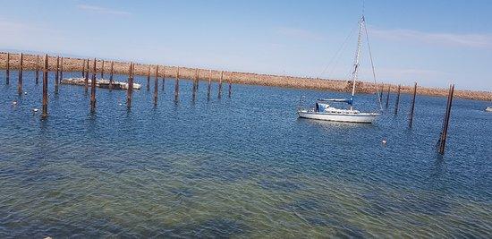 Absolute beachfront caravan sites, beautiful & relaxing.