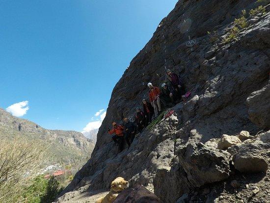 Los Andes, Chili : Escalada en Roca