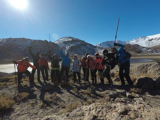 Los Andes, Chili : Laguna del Copin