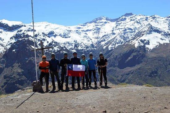 Los Andes, Chili : Cerro Nido de Condores