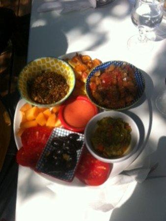 La Renverse: petite assiette Végan préparée sur le pouce