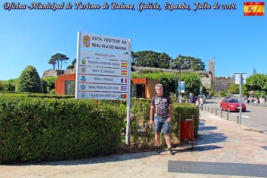 Baiona, إسبانيا: Oficina Municipal de Turismo de Baiona, Galícia, Espanha
