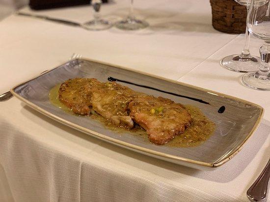 Cenacolo Location&Ristorante: Entrecote Iberica al Pistacchio