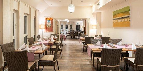 Frühstücks Raum im Hotel Princess Plochingen bei Stuttgart