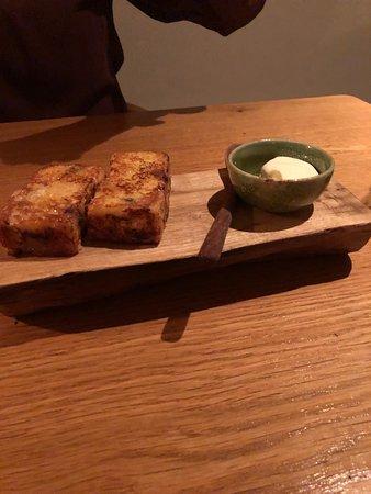 The  Black Swan at Oldstead: Root vegetable toast!