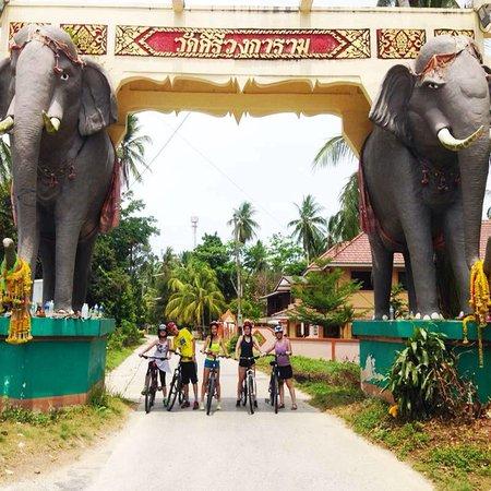 Taling Ngam, تايلاند: Elephant Gate