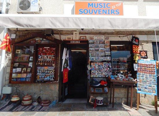 Music & Souvenirs shop Ohrid - ZiZiTop