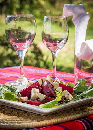 Beetroot and Feta salad - Losokwan Camp