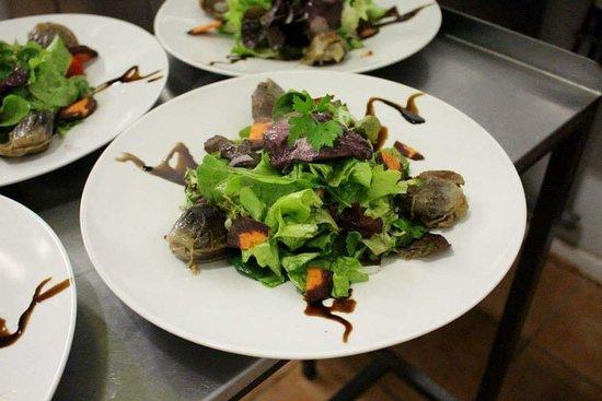 Le Dahu : Salade du dahu.