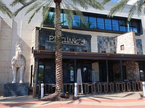 P.F. Chang's: Located in the front of the mall.