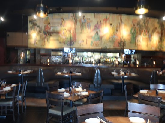 P.F. Chang's: The bar area is inviting.