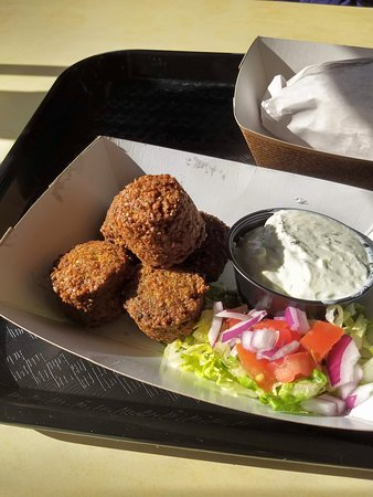 Ocean Township, NJ: Side of Falafel (5 pcs). Comes with tzaziki sauce