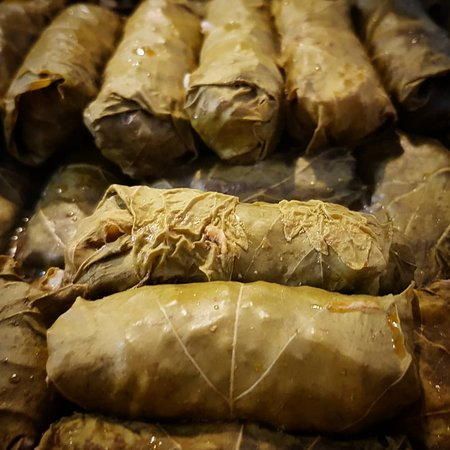 """Yaska Ev Yemekleri: This meal is called """"Yaprak Sarması"""" similar to """"Lahana Sarması""""  but main difference is it's wrap is a leaf from grape trees. You must try this."""