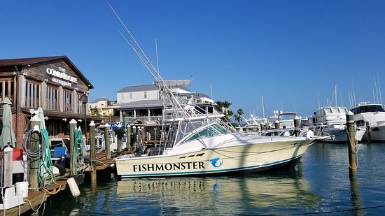FishMonster Charters: The Reel Deal at home at A&B Marina 700 Front St. Key West