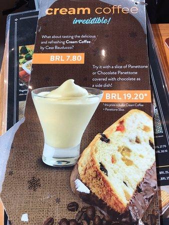Do not order Cream Coffee Combo