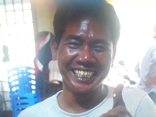 Simon- tuktuk driver from Phnom Penh