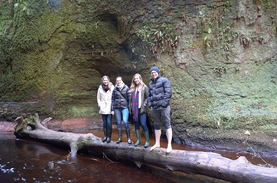 Ecotour Scotland: Devils Pulpit. August 2018