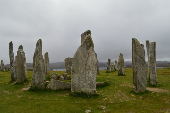 Ecotour Scotland: Callanish Standing Stones, Isle of Lewis. May 2018.
