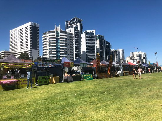 Langley Park on Australia Day