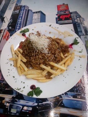 Yorking Food Restaurant: Un súper arroz oriental en salsa de lulo, menú del día..... ¡Delicioso!