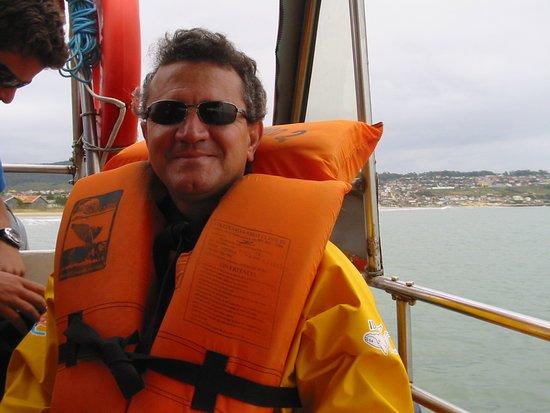 Observacao De Baleias: Observação de baleias franca em barcos especiais na Praia do Rosa, em Imbituba - SC