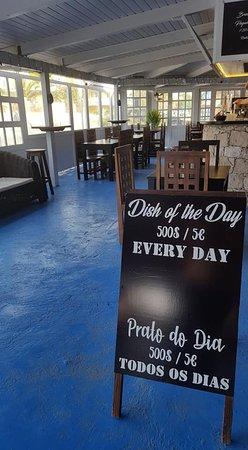 Porto Antigo Restaurante: Prato do dia