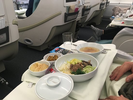 Korean Air: Just one of the many courses
