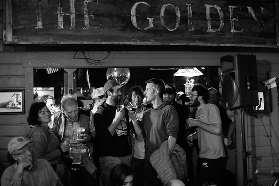 The Golden Saloon: Thursday, Friday & Saturday night's are band nights - but other nights find everyone gathers in the Saloon to talk about their day.