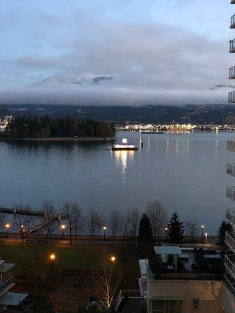 Harbour at dawn