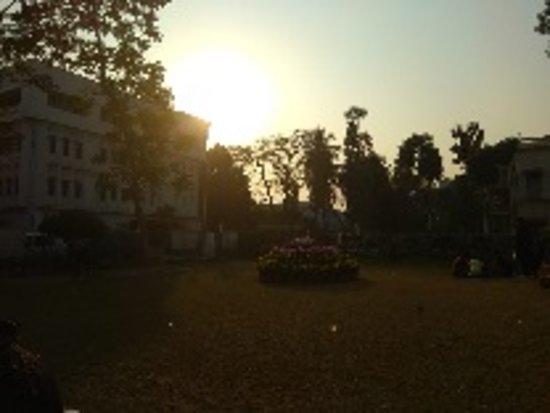 Kalküta, Hindistan: Rabindra Bharati University, Kolkata, India during Sunset.