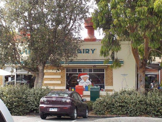 Cowderoy's Dairy Cafe: Street View