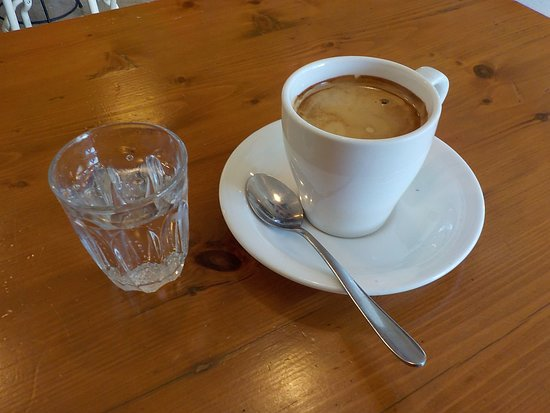 Cowderoy's Dairy Cafe: Long Black Coffee