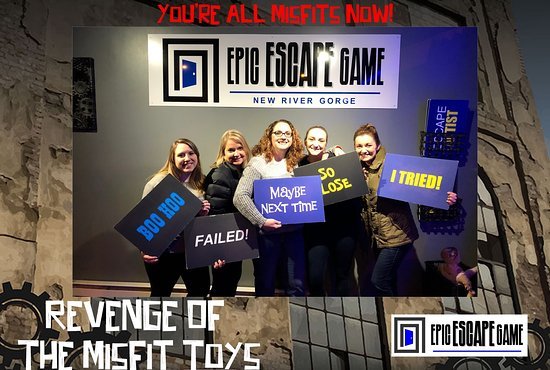 Epic Escape Game New River Gorge