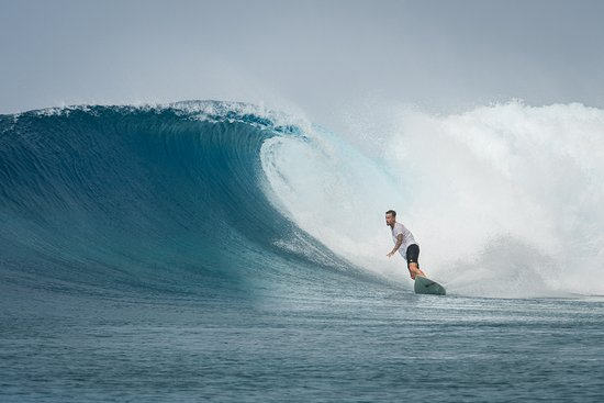 Îles Marshall: The surf around the island is world class