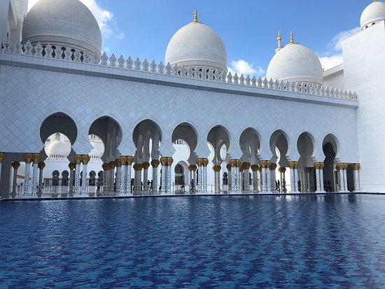 Scheich-Zayid-Moschee: Mosque view.