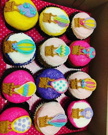 Our custom made cupcakes.
