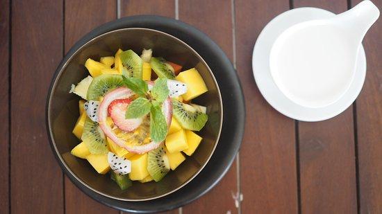 Healthy healthy with coconut milk