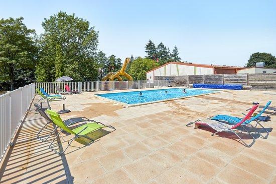 La piscine chauffée est un pur bonheur.