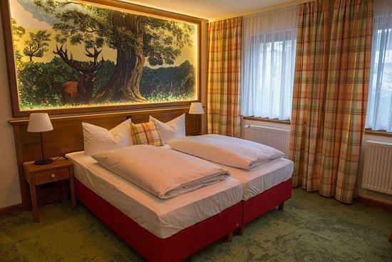 """Die neuen ZImmer im Haus """"Waldeslust"""" des Flair Hotels Hochspessart."""
