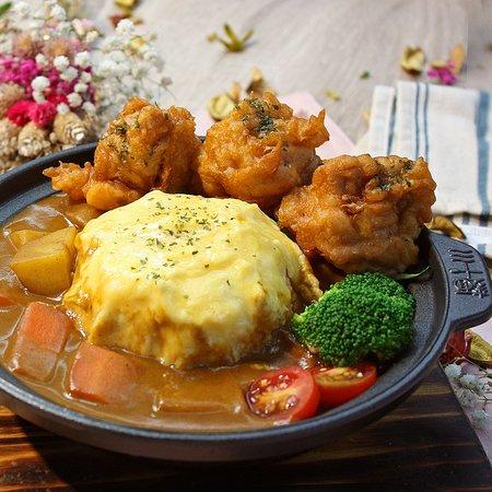 酥脆唐揚雞咖哩飯
