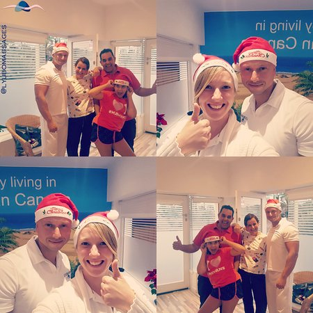Some special clients on a special day! Merry Christmas  Book your treatment online! Go to www.lyubomir-massages.com or click on the website link in the overview!  Look forward to meet you!