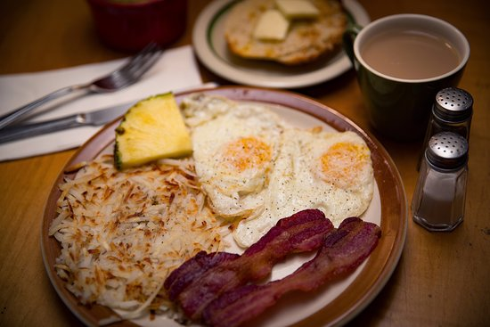 Saguache, CO: Egg Special on Saturdays!!  Choose from an egg or ham&cheese omelet, bacon or sausage, hash browns, and our very own sourdough toast!