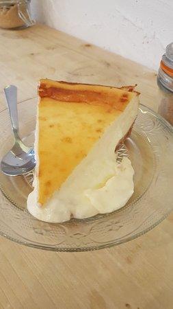 La tarta de queso me ha volado la cabeza
