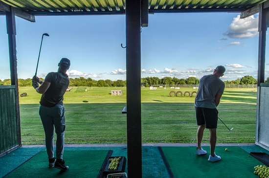 Boomers and Swingers Golf Driving Range