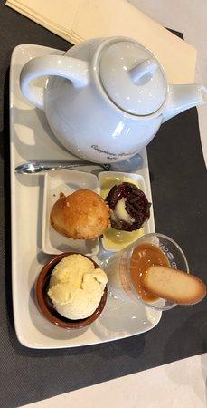 Bistrot Les Rosaires: thé gourmand