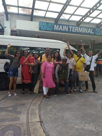 Bali Quality Tour : Toyota Haice minibus happy with them